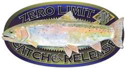 2007 Catch & Release Trout Decal